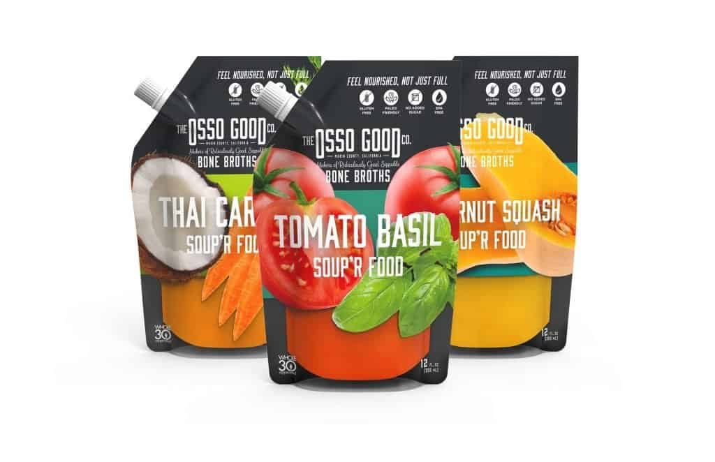 Osso Good Organic, Pasture-Raised and 100% Cage Free Broth - Whole30 Approved, Paleo Soup - $10 off Osso Good with discount code USALOVE #whole30compliant #whole30broth #whole30cannedsoup #glutenfreessoup