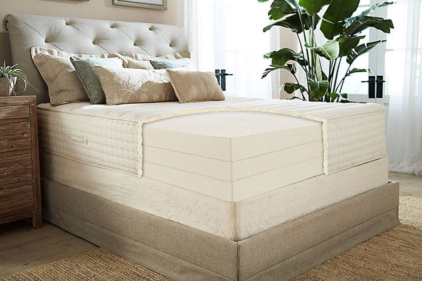 American Made Organic Latex Mattress from Plushbeds - #nontoxic #mattress #organic #madeinusa