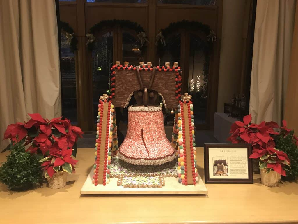 Rittenhouse Hotel Holiday Traditions - Gingerbread Displays in Philadelphia - Free Things To Do in Philadelphia for The Holidays