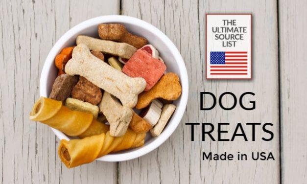 Dog Treats Made in USA : A USA Love List Source Guide