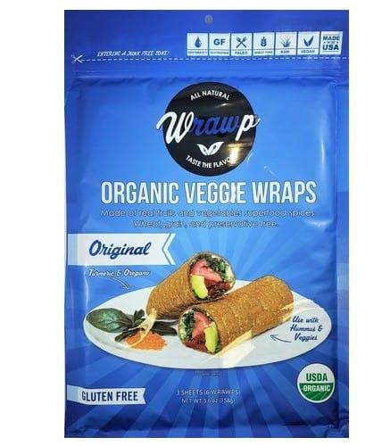 WrawP Paleo, Vegan Coconut Wraps. 10% off WrawP with discount code USALOVE through December 31, 2019. One time use per customer. #wrawp #paleo #grainfree #glutenfree #wraps #coconut #veggiewraps