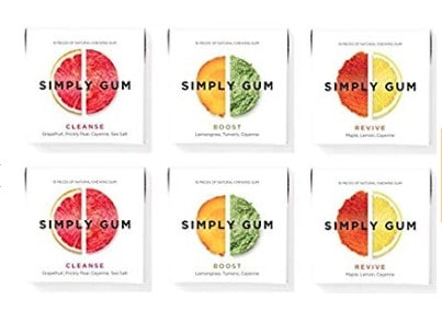 Gluten Free Foods: Gluten Free Snacks- Simply Gum #glutenfree #usalovelsited
