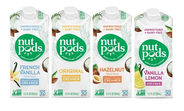 Nutpods Dairy-Free, Gluten-Free Whole30 Paleo Creamer - 15% off with code USALOVE