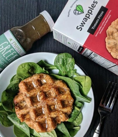 Gluten Fee Foods made in USA: Swapples waffles #usalovelisted #glutenfree