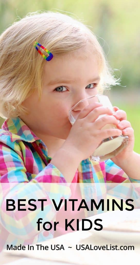 Best Vitamins for Kids Made in USA #usalovelisted #madeinUSA #kids #health