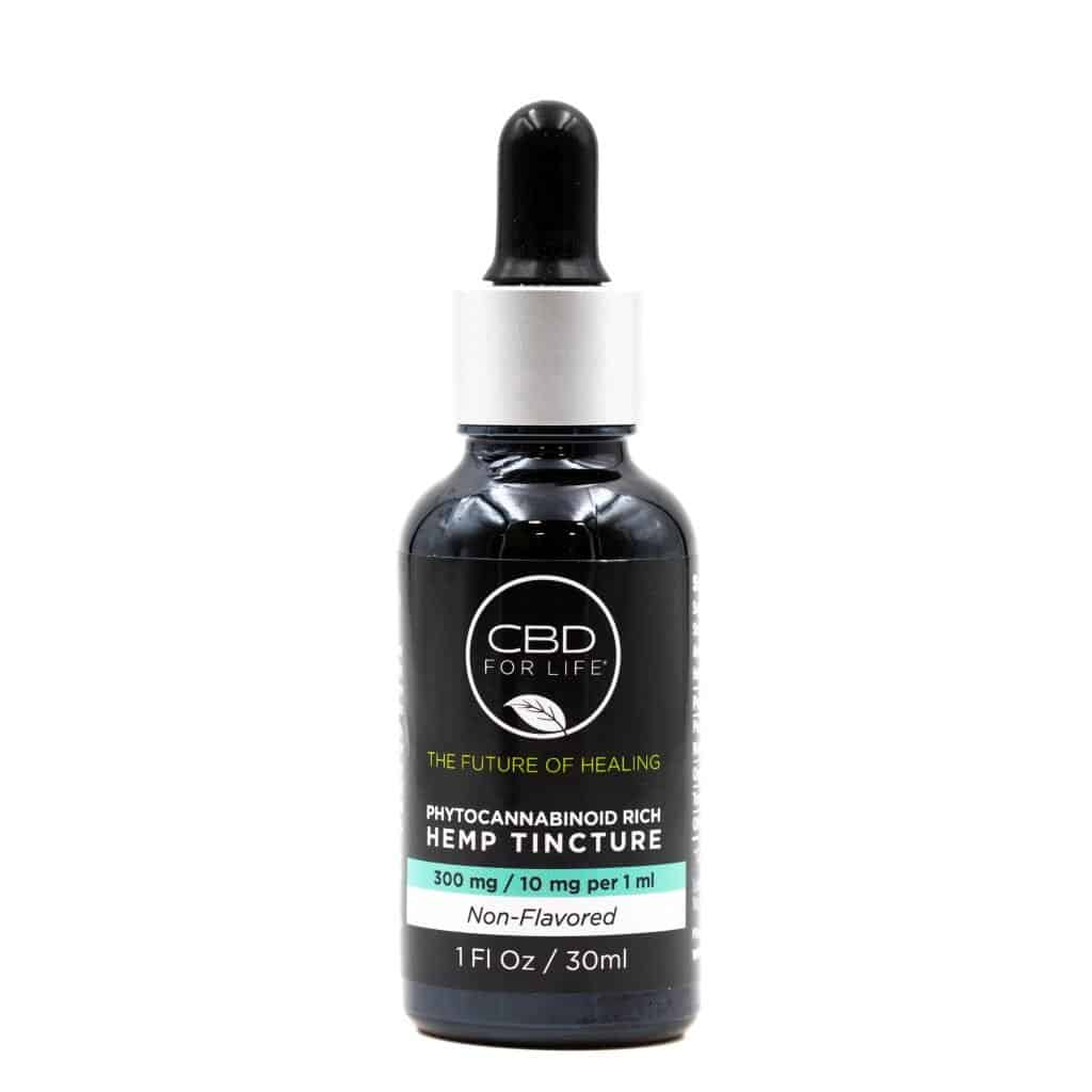 CBD Products made in USA: CBD for Life Hemp Tincture 300 mg for $40 - Made in USA