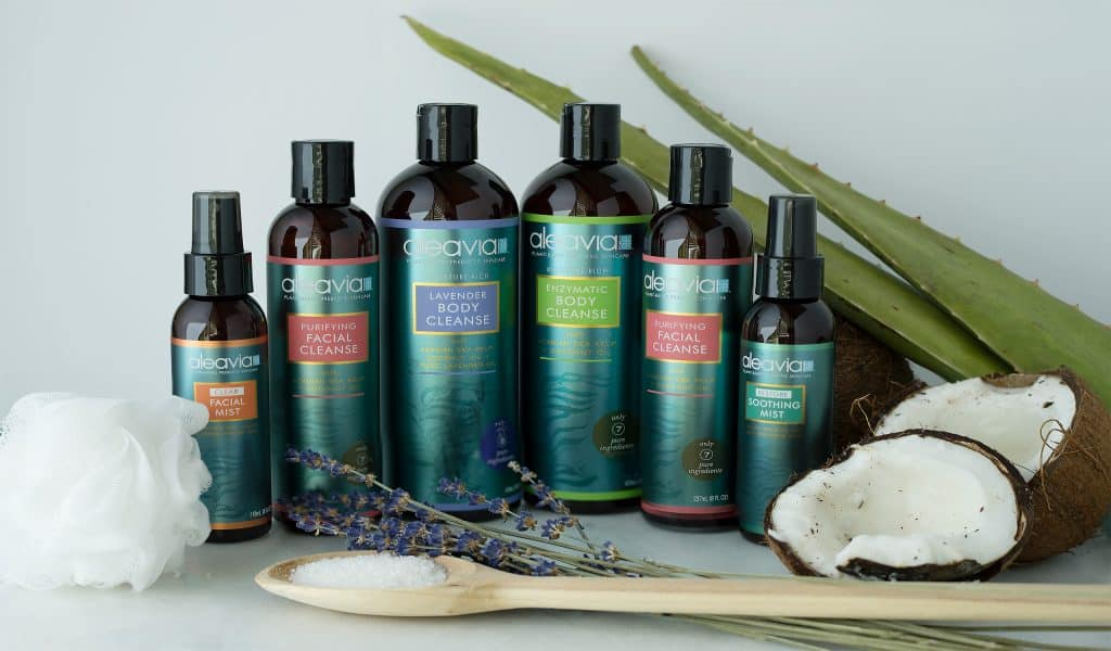 Aleavia Skincare Prebiotic Plant-Based Skincare - Made in USA, Plant-Based Beauty Products We Love