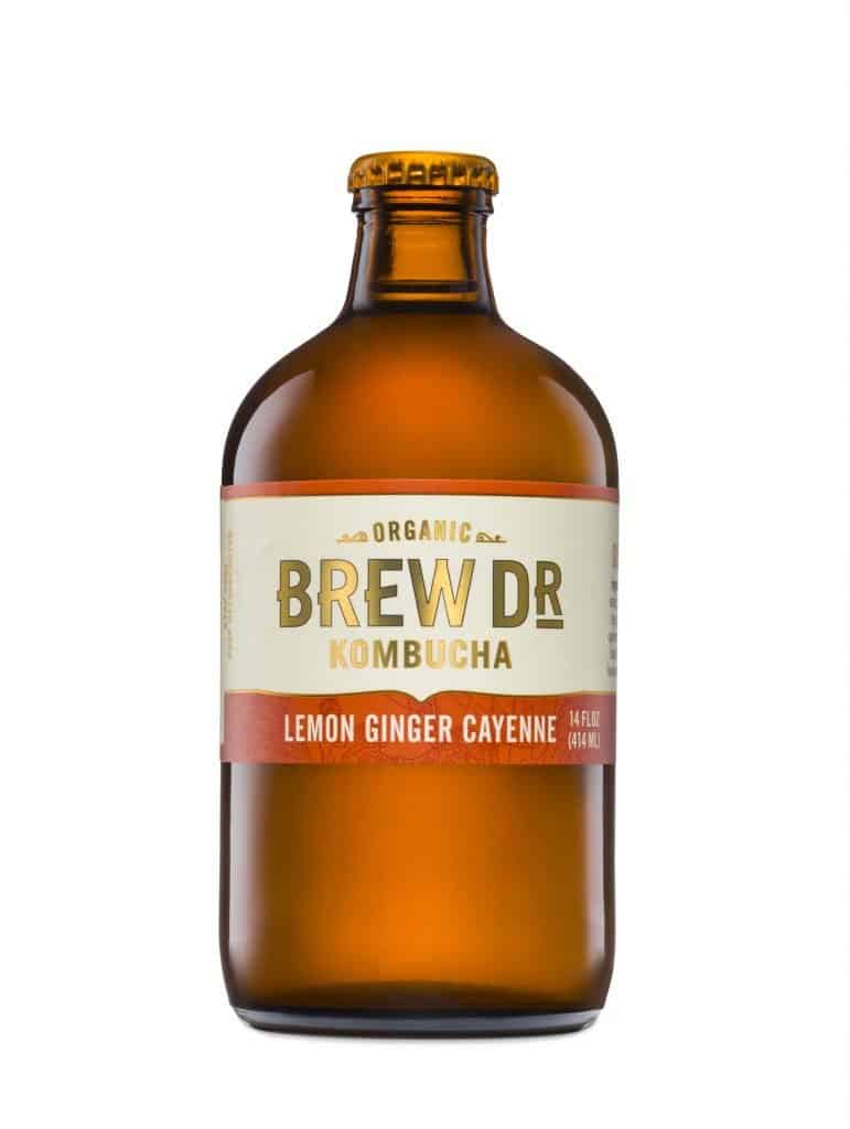 GMO-Free, Organic, Raw Kombucha from Brew Dr. Kombucha - 1% for the Planet