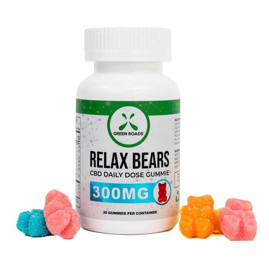 CBD Products made in USA: Green Roads CBD Gummy Bears - Made in USA with 10 MG of CBD per Gummy #CBD #hemp #usalovelisted #madeinUSA