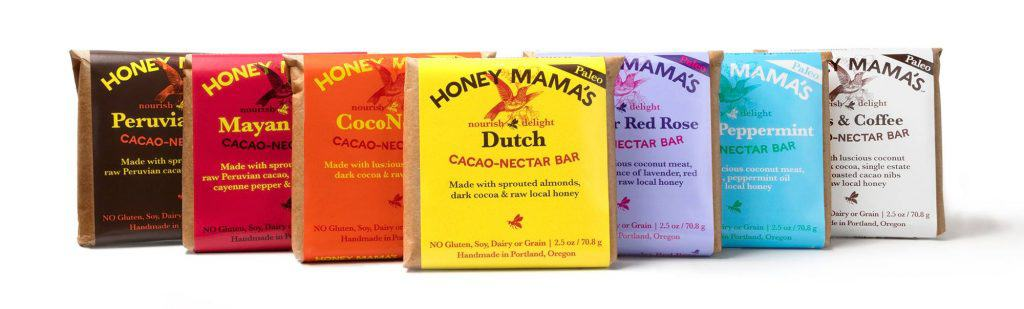 Honey Mama's Paleo Chocolate - Honey Sweetened Chocolate - Made in USA from Portland, Oregon