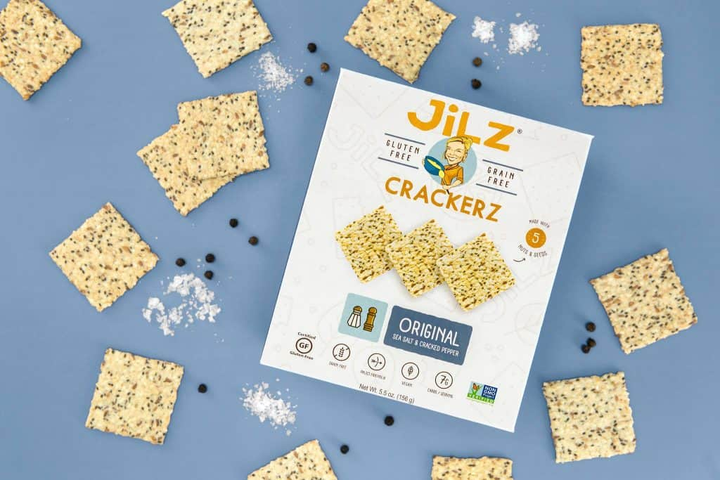 Jilz Crackerz - Paleo, Vegan, Non-GMO, Gluten-Free and Grain-Free Crackers