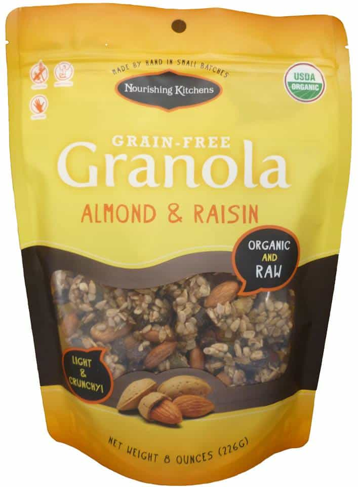 Nourishing Kitchens Grain-Free Granola - Made with American Grown, Organic and Raw Ingredients #grainfree #glutenfree #paleo #granola #madeinusa