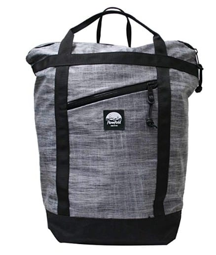Made in USA backpacks and schoolbags: Flowfold commuter bags, tote bags, duffle bags