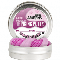 Crazy Aaron's MINI Sweet Heart  Thinking Putty