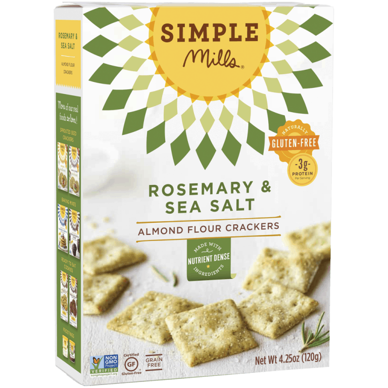 Simple Mills Paleo Crackers We Love #paleo #grainfree #paleocrackers #glutenfree #simplemills