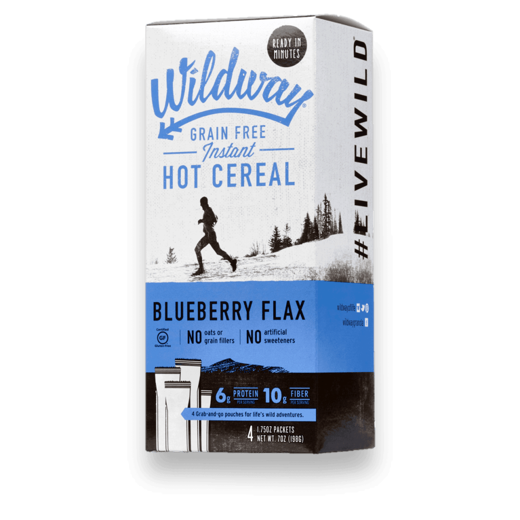 Wildway Grain-Free Paleo 'Oatmeal' Instant Hot Cereal #paleo #grainfree #glutenfree #flax #madeinusa