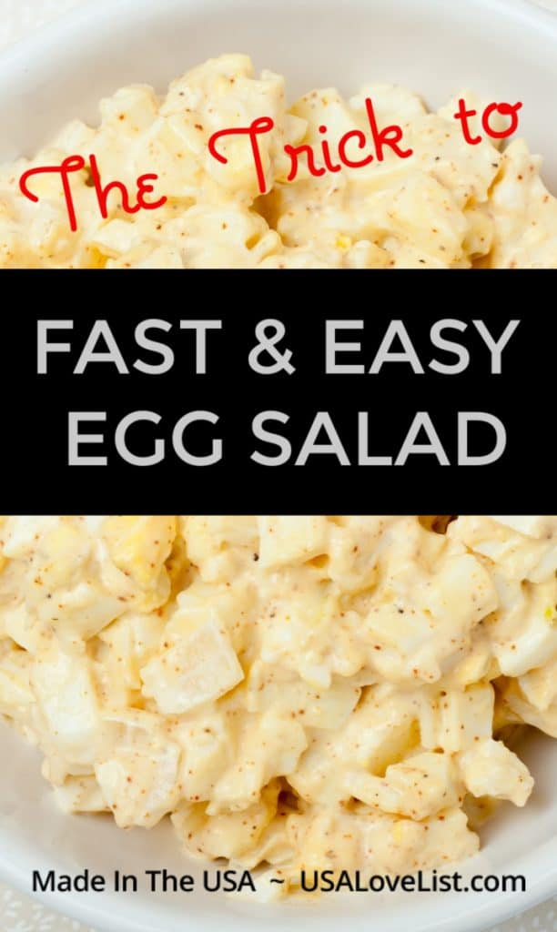 Trick to fast and easy egg salad #usalovelisted #eggsalad #kitchenaid