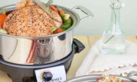 Giveaway: 360 Cookware 4 Quart Stainless Steel Slow Cooker