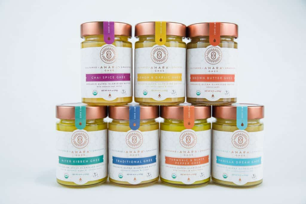 What is Ghee? And How to Find The Best Ghee Brands - Organic Grass Fed Ahara Rasa Ghee - $4 off your first Ahara Rasa order of $20 or more with discount code USALOVE through December 31, 2019. One time use.