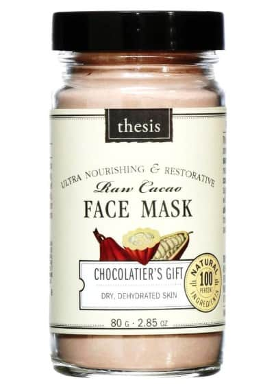 Health Benefits of Chocolate: Sweet Gifts- Thesis Chocolatier's Gift Face Mask 15% off Thesis Beauty with discount code USALOVE. No expiration. #usalovelisted #deal #chocolate