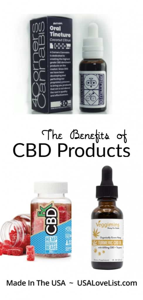 The Benefits of CBD Products