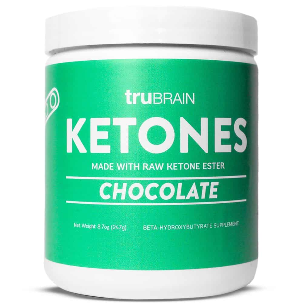 Keto Shopping List: Made in USA: TrueBRAIN Ketones #keto #glutenfree #vegan #usalovelisted