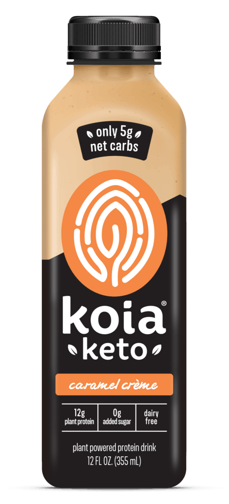 koia keto on-the-go keto meal replacement drink #dairyfree #dairyfreeketo #keto #onthego #plantbased #peaprotein