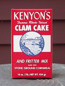 Made in Rhode Island: Kenyon's Clam Cake Mix #usalovelisted #clamcake #rhodeisland