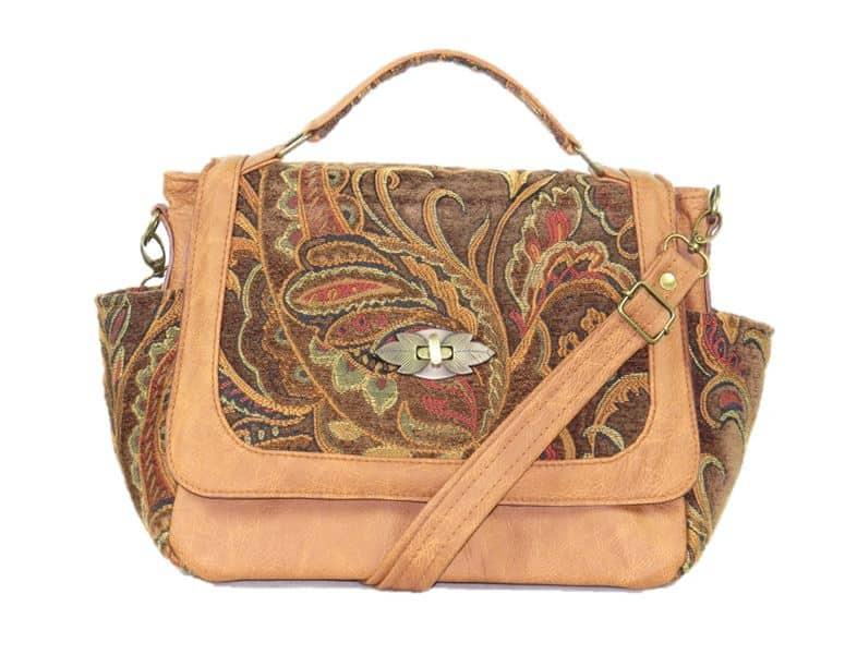 Affordable American Made Leather Handbag - Leather Handbags from Beautiful Bags Etc. #handbags #leather #madeinusa #hobo