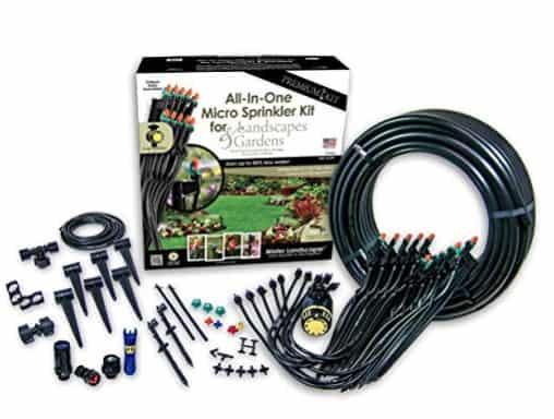 Made in USA Garden Supplies: Mister Landscaper sprinkler system #usalovelisted #garden #gardening