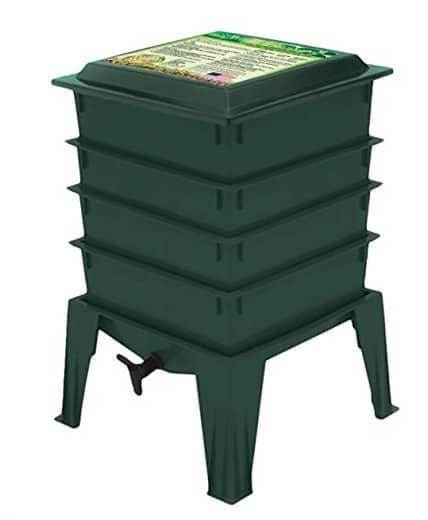 Made in USA Garden Supplies: Worm Factory Composter #garden #usalovelisted #gardening #composting