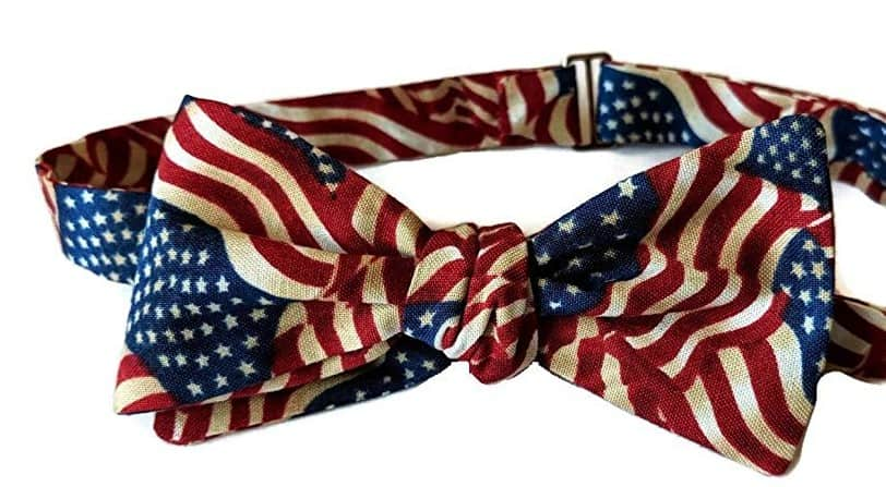 American made Neckties and bow ties: Extra So Sweet affordable ties and bow ties #usalovelisted #madeinUSA #bowties