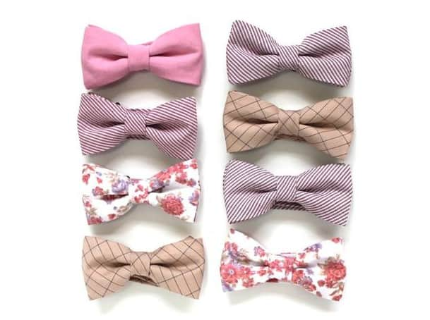 Made in USA neckties and bow ties: aendee handmade bow ties and neck ties #usalovelisted #wedding #ecofriendly #weddingattire