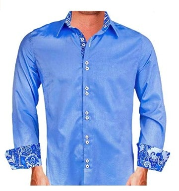 American made men's fashion dress shirts: Anton Alexander designer french cuff shirts #usalovelisted #wedding #fathersday