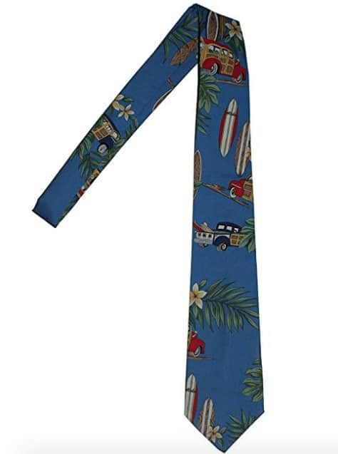Made in USA Ties: Rainbow Hawaiian Neckties #usalovelisted #madeinUSA