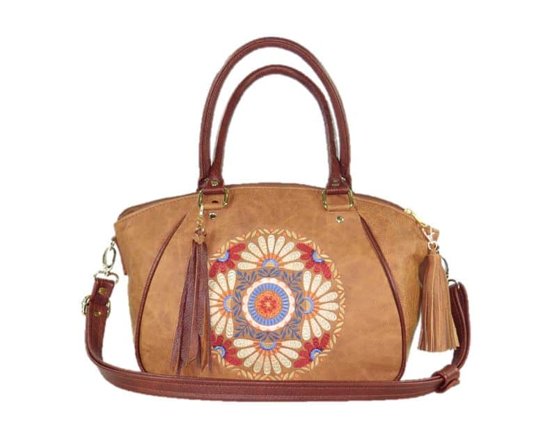 Affordable American Made Leather Handbag - Leather Handbags from Beautiful Bags Etc. #handbags #leather #madeinusa #hobo
