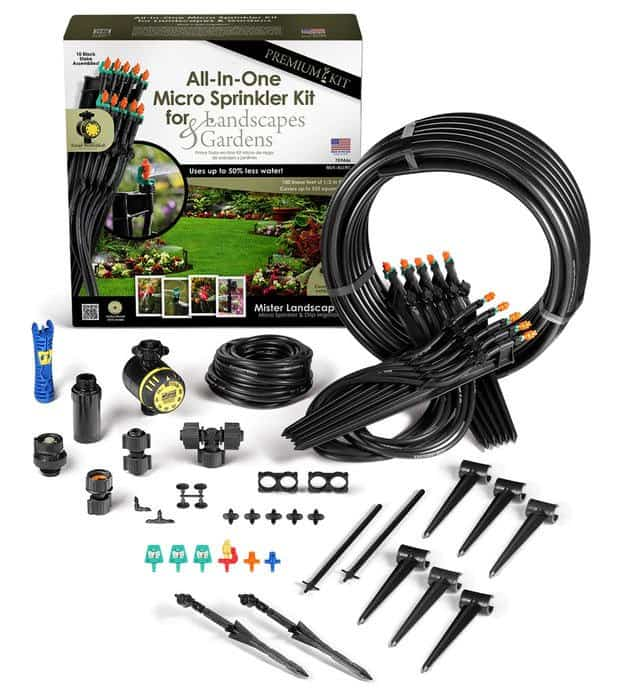 Best Garden Tools: Mister Landscaper irrigation kits for lawn and garden #usalovelisted #garden #ecofriendly