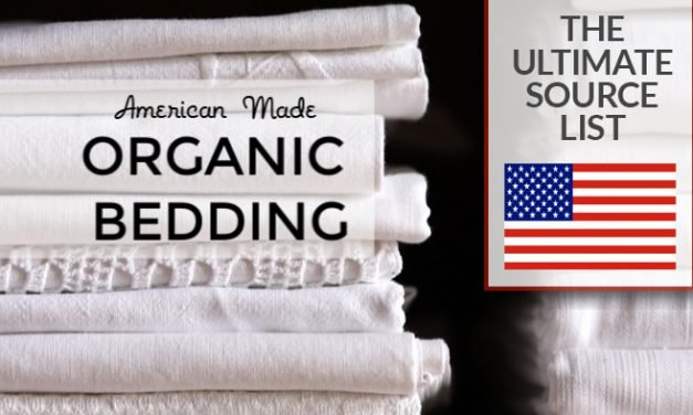 Organic Bedding Made in USA: An American Made Source Guide