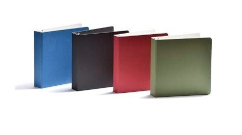 Eco Friendly school and office supplies: Naked Binder binders and folders #usalovelisted #madeinUSA #schoolsupplies