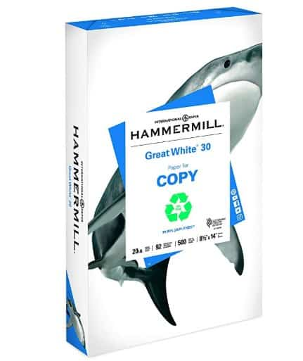Made in USA Eco Friendly School and Office Supplies: Hammermill copy paper #usalovelisted #madeinUSA #schoolsupplies #backtoschool