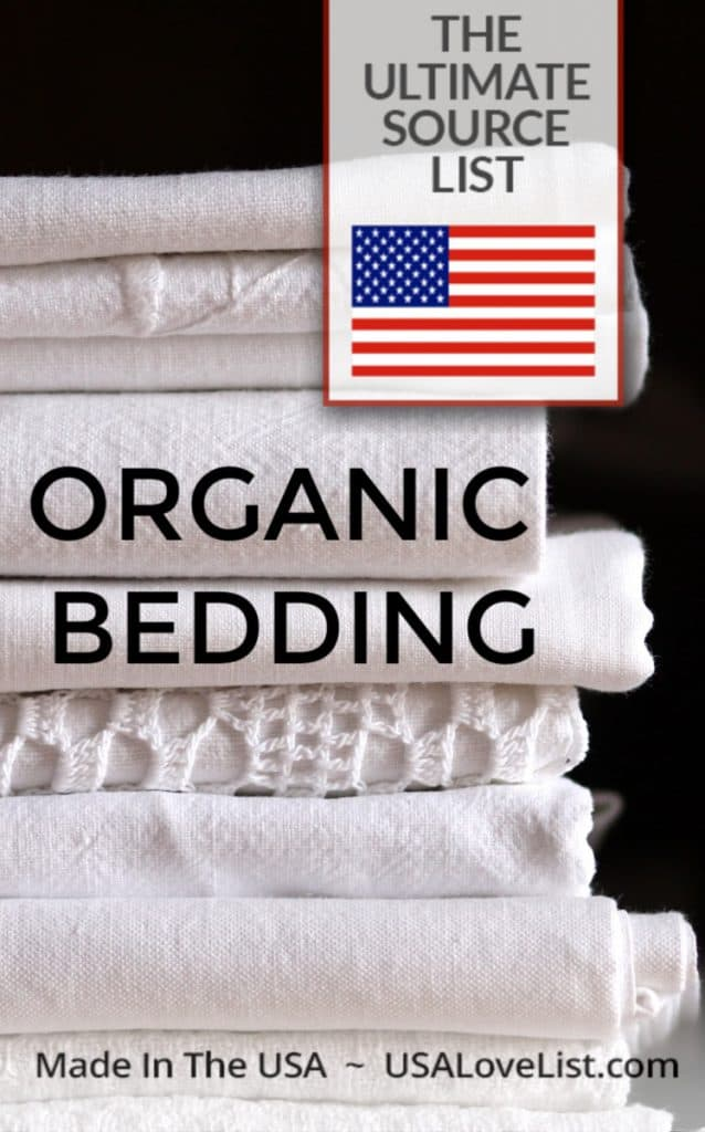 Organic Bedding Made in USA #usalovelisted #organic #bedding
