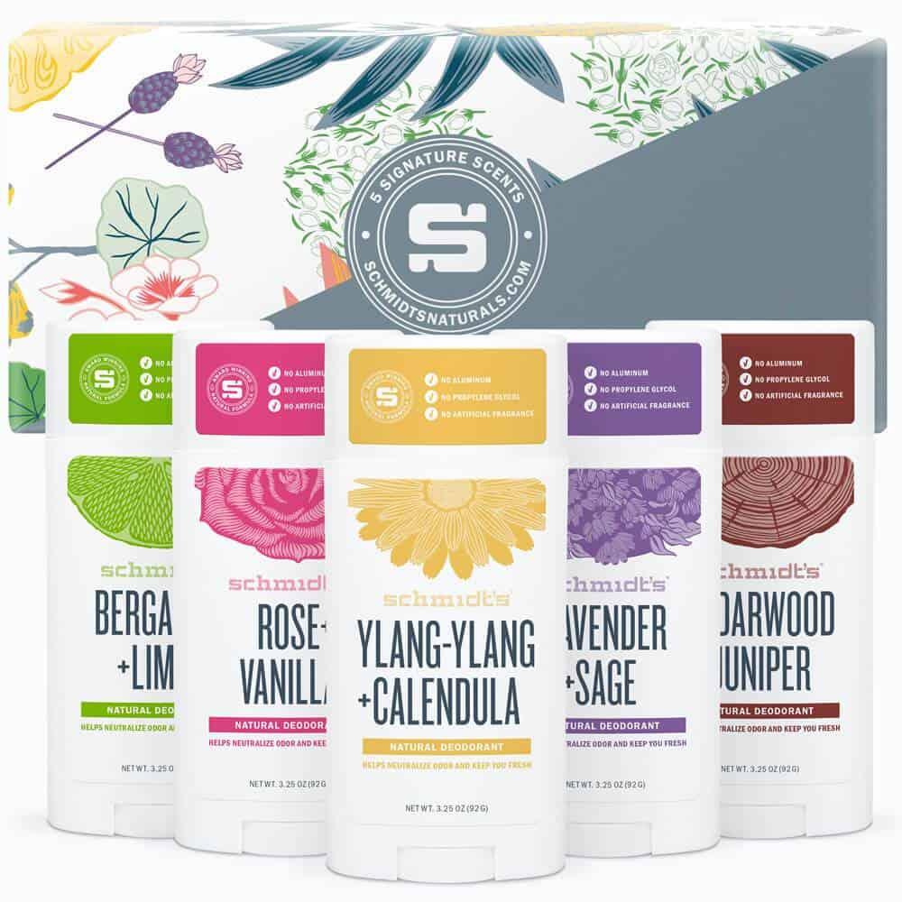 Vegan beauty products: aluminum free vegan Schmidt's deodorant #vegan #usalovelisted
