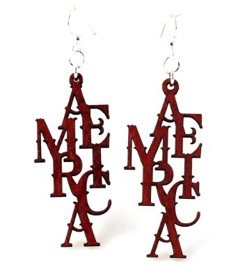 Patriotic Items made in USA: AnytownUSA patriotic earrings, clothing, and home decor all made in USA. #patriotic #madeinUSA #usalovelisted #fourthofjuly #america