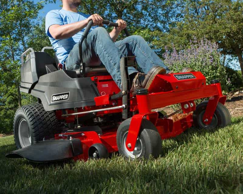 Snapper makes a zero-turn mower that is manufactured in the USA.
