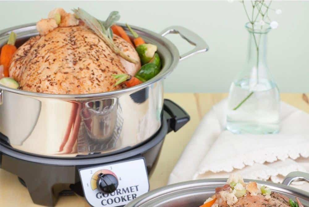 Giveawary: Made in USA Cookware- 360 Cookware #usalovelisted #madeinUSA #slowcooker