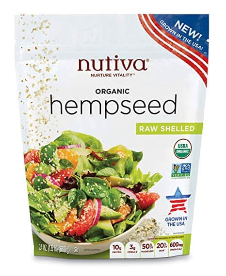 Nutiva Organic Hemp Seeds (grown in Colorado)