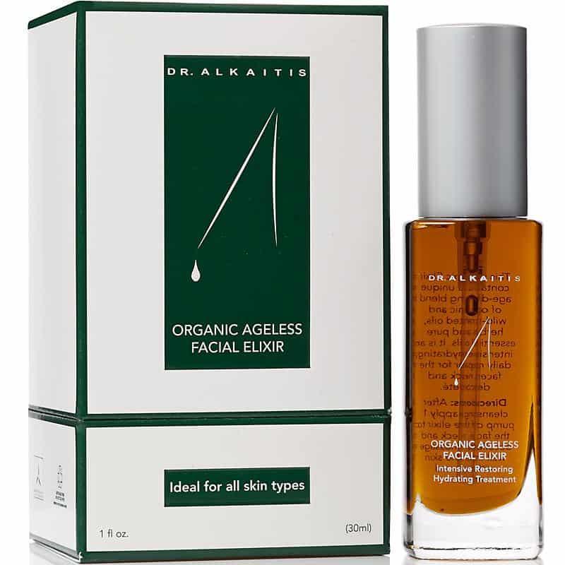 Organic, Vegan, Cruelty Free, Non-Toxic Facial Oil - Dr. Alkaitis Organic Ageless Facial Elixir - Made in USA