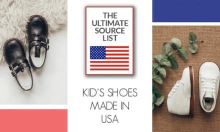 Made in USA Kids Shoes: A USA Love List Source List