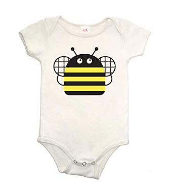 Made in USA Baby Clothes and Toddler Clothing: Collette Kids onsies and toddler Ts #usalovelisted #babyclothes #toddler
