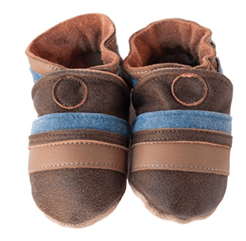 Made in USA shoes for Kids: Cade & Co baby slippers #usalovelisted #baby